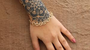 bracelet chain gold images How to make a gold chain bracelet jpg