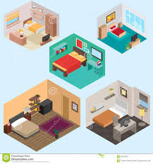 isometric floor plan 3d isometric floor plan for apartment vector illustration of