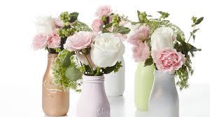 milk bottle flower vase centerpieces martha stewart weddings