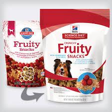 hill u0027s science diet crunchy diet fruity snacks with cranberries