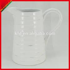 White Ceramic Jug Vase Wholesale Ceramic Jugs Wholesale Ceramic Jugs Suppliers And