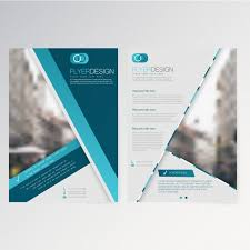 vector template flyer design vector free download
