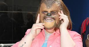 spirit halloween chewbacca chewbacca mask lady candace payne gets a tattoo