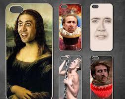 Meme Iphone 5 Case - nicolas cage case etsy