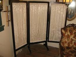 Canvas Room Divider Cool Vintage Room Divider Screen 6 Ft Tall Double Sided Vintage