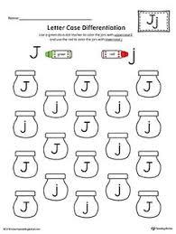 alphabet letter hunt letter j worksheet alphabet letters