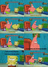 patrick prepares spongebob for his first tournament spongebros