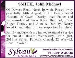 funeral service announcement wording exle funeral notice sylvan funerals