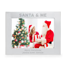 santa u0026 me 5x7 landscape photo frame