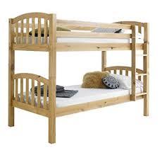 Happy Beds American Solid Honey Pine Wooden Bunk Bed Frame Bedroom - Solid wood bunk bed