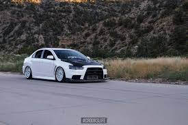 mitsubishi evo 7 custom black and white mitsubishi evolution customized gone racing