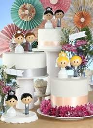 kokeshi bride u0026 groom wooden doll figurine wedding cake topper mix