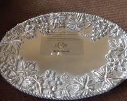 lenox metal tray etsy