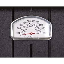 Patio Thermometer by Broilmaster P4 Xfn Premium Natural Gas Grill On Stainless Steel