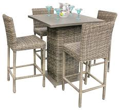 outdoor patio bar table outdoor patio pub table set myforeverhea com
