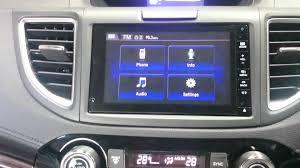 honda crv navigation review hitv 2015 honda crv factory screen gps navigation upgrade