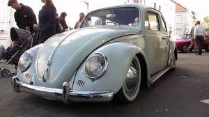 volkswagen bug white lowered vw beetle white freddy files ninove 2014 youtube