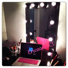 broadway lighted vanity makeup desk beauty fashion and lifestyle blog diy lighted makeup mirror
