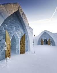hotel de glace in quebec city canada special unique ice hotel