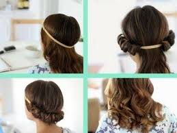 headband waves how to curl your hair without heat band