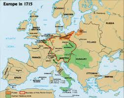 Map Of Europe 1648 by Unit 5 Maps U0026 Map Assignments
