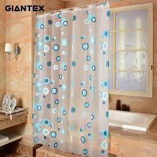 Plastic Shower Curtain Rod Adorable Plastic Shower Curtains And How To Clean Bathroom Modern