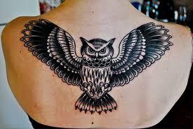 tattoo girl owl 1990tattoos crazy owl tattoos