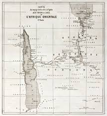 Lake Victoria Africa Map by Great Lakes Region Old Map Eastern Africa Created By Erhard