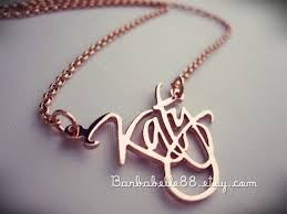 necklace rings names images Custom name necklace everything fashion everything fashion jpg