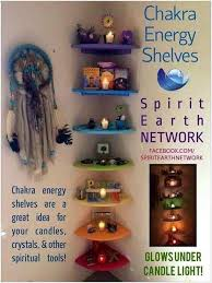 chakra shelves pagan wiccan witch craft inspiration great for
