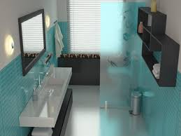 bathroom turquoise and gray kids bathroom pictures decorations