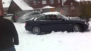 lexus winter tyres uk bmw stuck in snow youtube