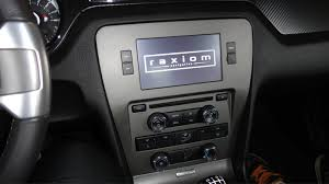 mustang navigation raxiom oe style gps navigation w bluetooth back up 10