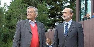 Ben Bernanke et Jean-Claude Trichet