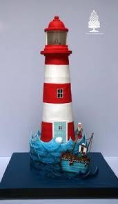 lighthouse cake topper lighthouse groom s cake wedding inspirations
