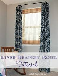 How To Make Drapery Panels With Lining How To Sew Lined Drapery Panels Drapery Panels Window And Fabrics