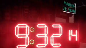 led clock with at89c2051 youtube