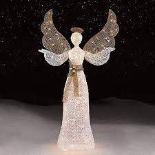 lighted christmas yard angels christmas angels decorations christmas design