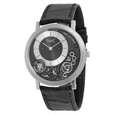 piaget altiplano piaget altiplano black and silver 18kt white gold black