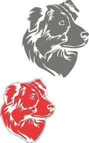 australian shepherd yahoo answers australian shepherd dog breed geometric silhouette plaid sticker