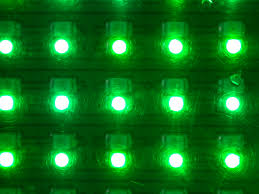 image after textures led lights green matrix