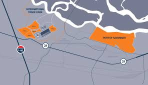 Ikea World Map Georgia Ports Authority Sells 500 Acres For Commercial Development