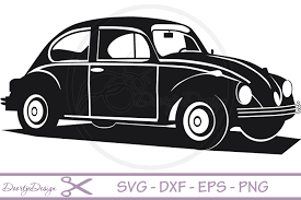 volkswagen beetle clipart vw car vector files svg file by doortje design bundles