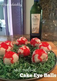 red velvet cake eye balls sundaysupper take a bite out of boca
