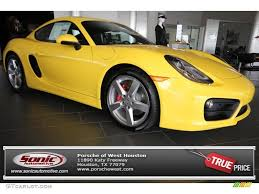 porsche cayman yellow 2014 racing yellow porsche cayman s 81288144 gtcarlot com car