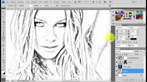 how to create pencil sketch effect in photoshop come creare