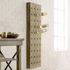 cooperstown 6 bottle wall mounted wine rack u0026 reviews birch lane
