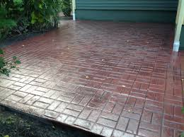 Best Sealer For Stamped Concrete Patio by Stamps