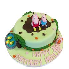 peppa pig cake peppa pig cake buy online free uk delivery new cakes