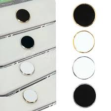 Iphone Home Button Decoration 4 Types Aluminium Home Button Sticker Metal For Apple Iphone Ipod